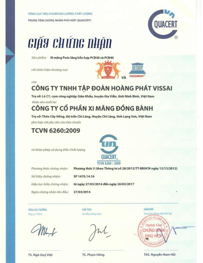 TCVN 6260 001